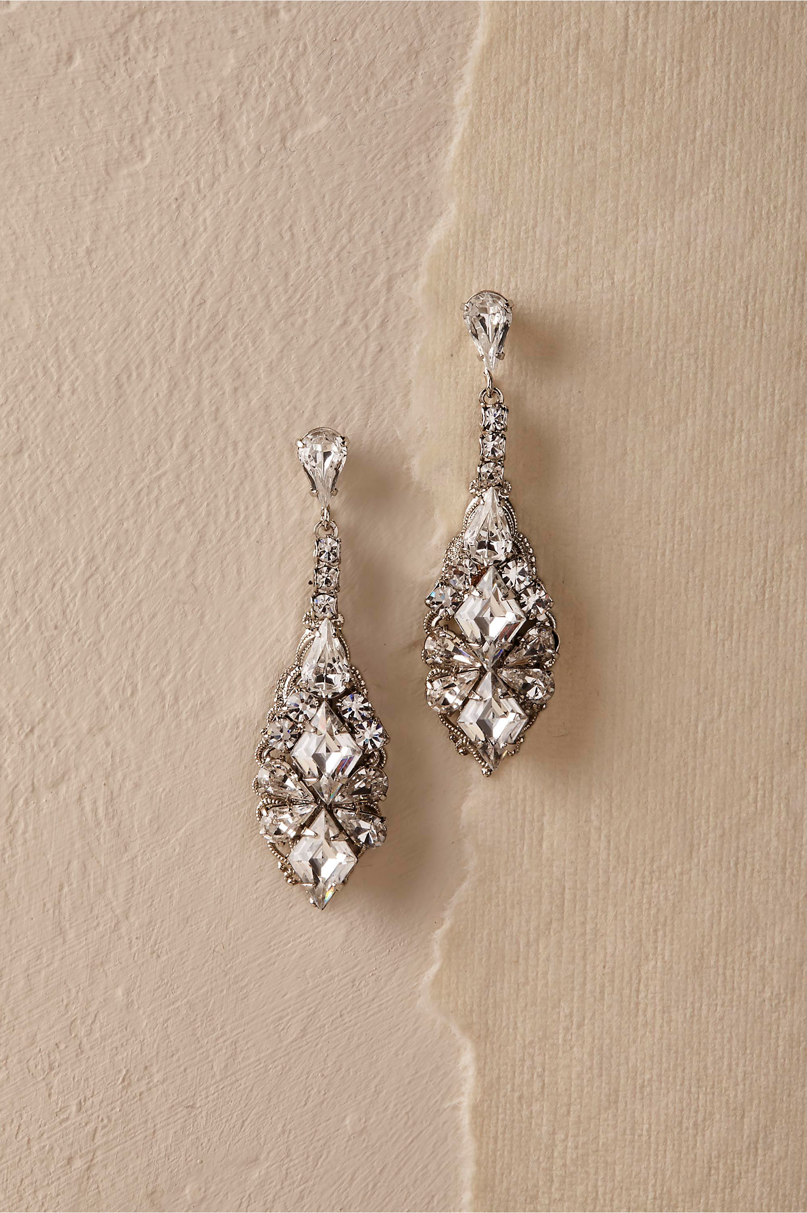 premium cz laine lucille are our in sterling faux featured long silver the diamond cut cushion earrings drop drops signature thomas and jewelry