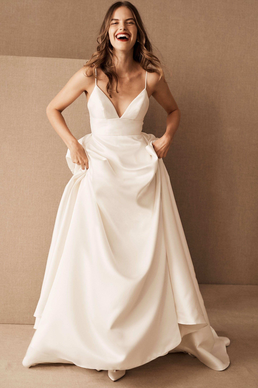Modern Wedding Dresses Structured Gowns BHLDN
