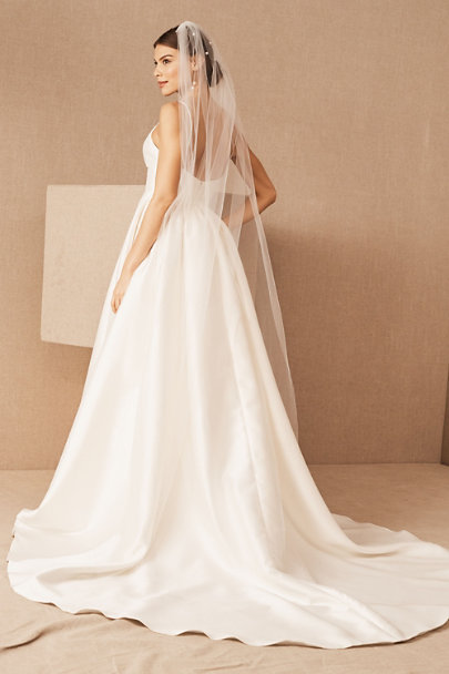 Wtoo by Watters Ivory Opaline Ballgown | BHLDN