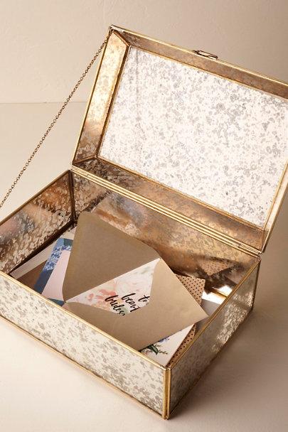 Lovely Mercury Glass Letter Holder in Sale | BHLDN RS46
