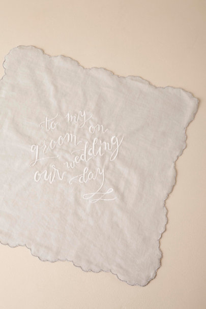 Groom Wedding Day Handkerchiefs | BHLDN