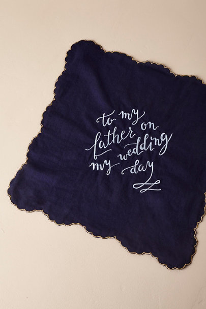 Father Wedding Day Handkerchiefs | BHLDN