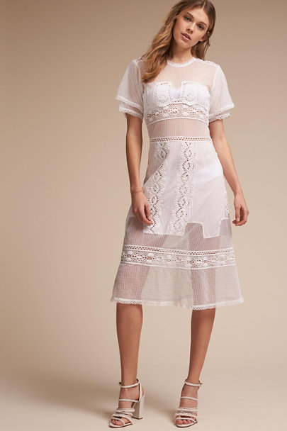 Tularosa Ivory Augustine Dress | BHLDN