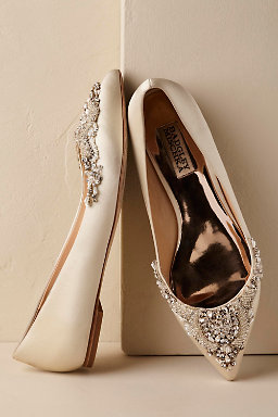 Bridal shoes on sale bhldn malena flats junglespirit Image collections