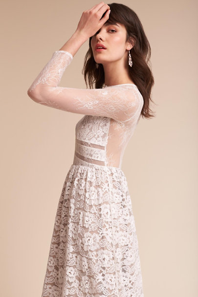 SAU Ivory Noche Dress | BHLDN