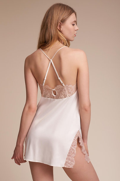 Creme / Pink Marion Chemise | BHLDN