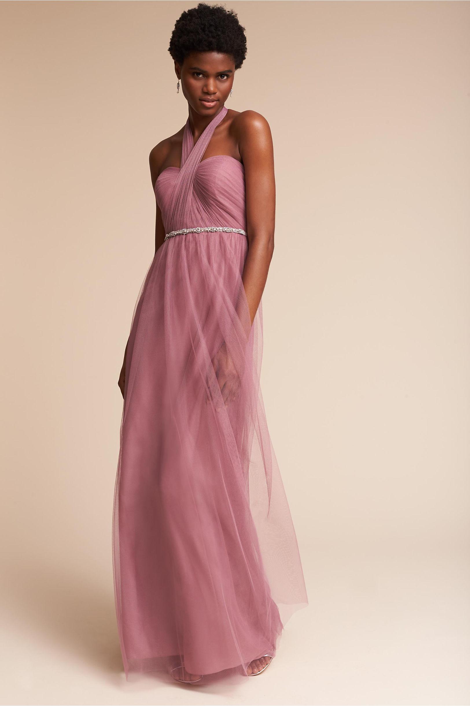Annabelle Dress Cherry Blossom in Sale | BHLDN