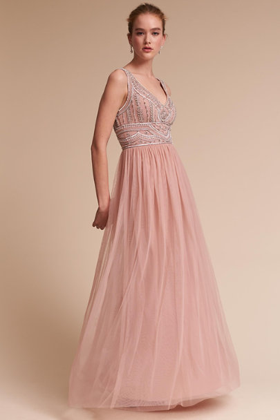 BHLDN Iris Sterling Dress | BHLDN