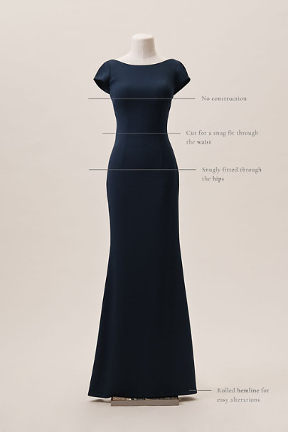Katie May Black Madison Dress | BHLDN