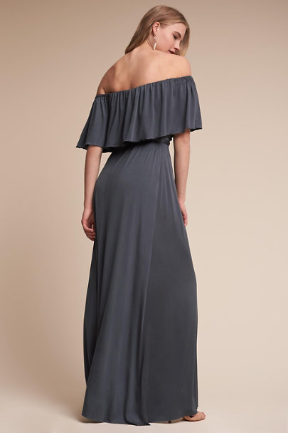 twobirds Pewter Maya Dress | BHLDN