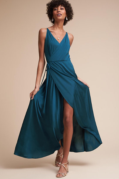twobirds Sea Blue Lily Dress | BHLDN