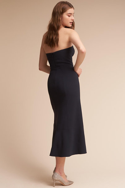 Soft Black Elaine Dress | BHLDN