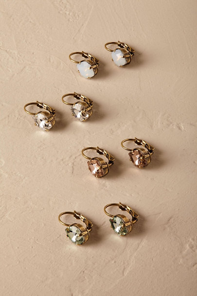 Sorrelli Gold Sibley Crystal Earrings | BHLDN