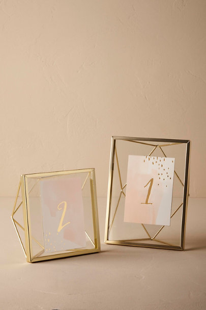 Gold Vista Frames  | BHLDN