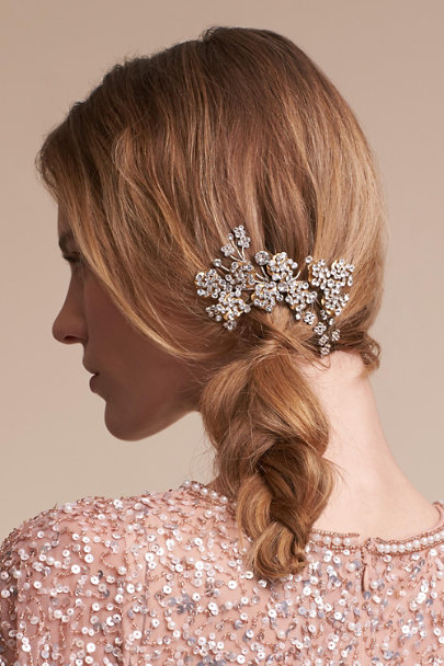 Paris by Debra Moreland Silver Nadera Hair Comb | BHLDN