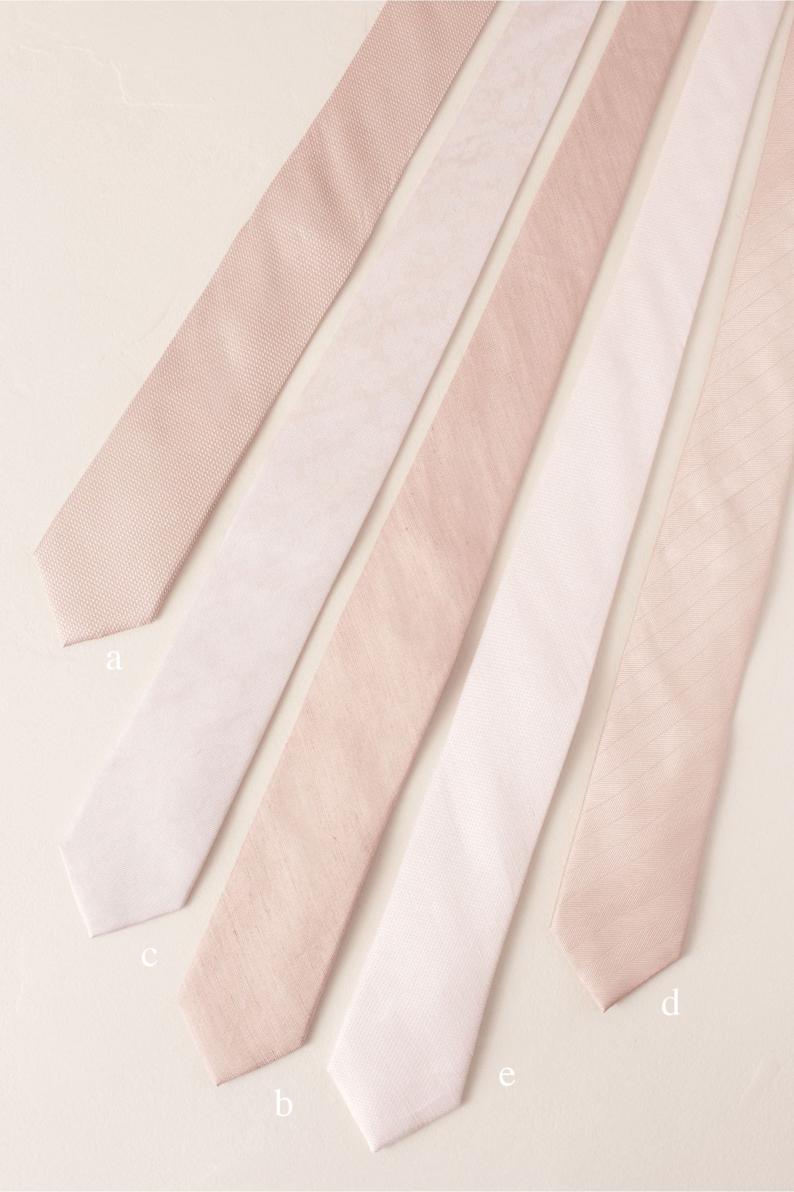 Tie Bar Blush Collection Blush in Bridesmaids & Bridal Party | BHLDN