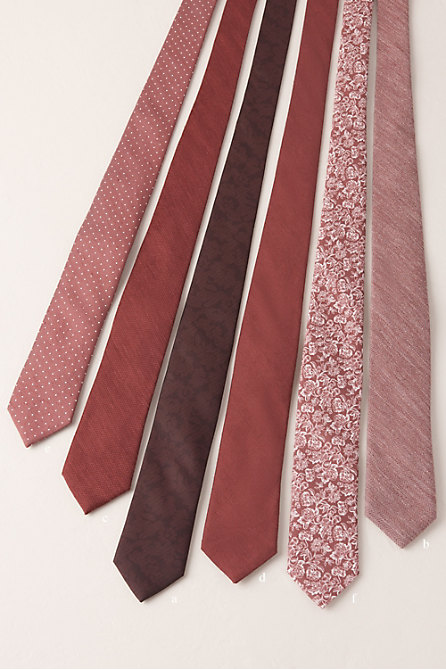 Tie Bar Burgundy Collection