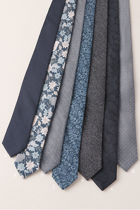Tie Bar Blue Collection