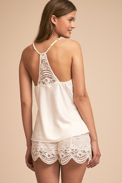 Flora Nikrooz Ivory Monica Camisole and Shorts | BHLDN