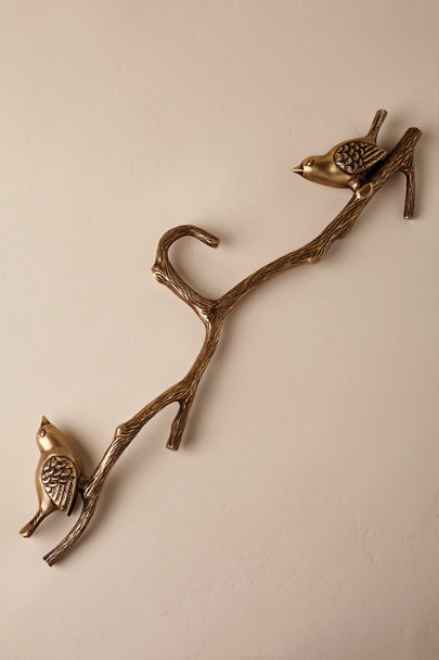 Bronze Love Birds Hanger  | BHLDN