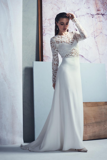 Anais Anette Ivory Forsyth Gown | BHLDN