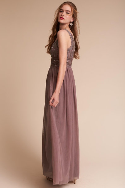 Dusty Plum Sterling Dress | BHLDN