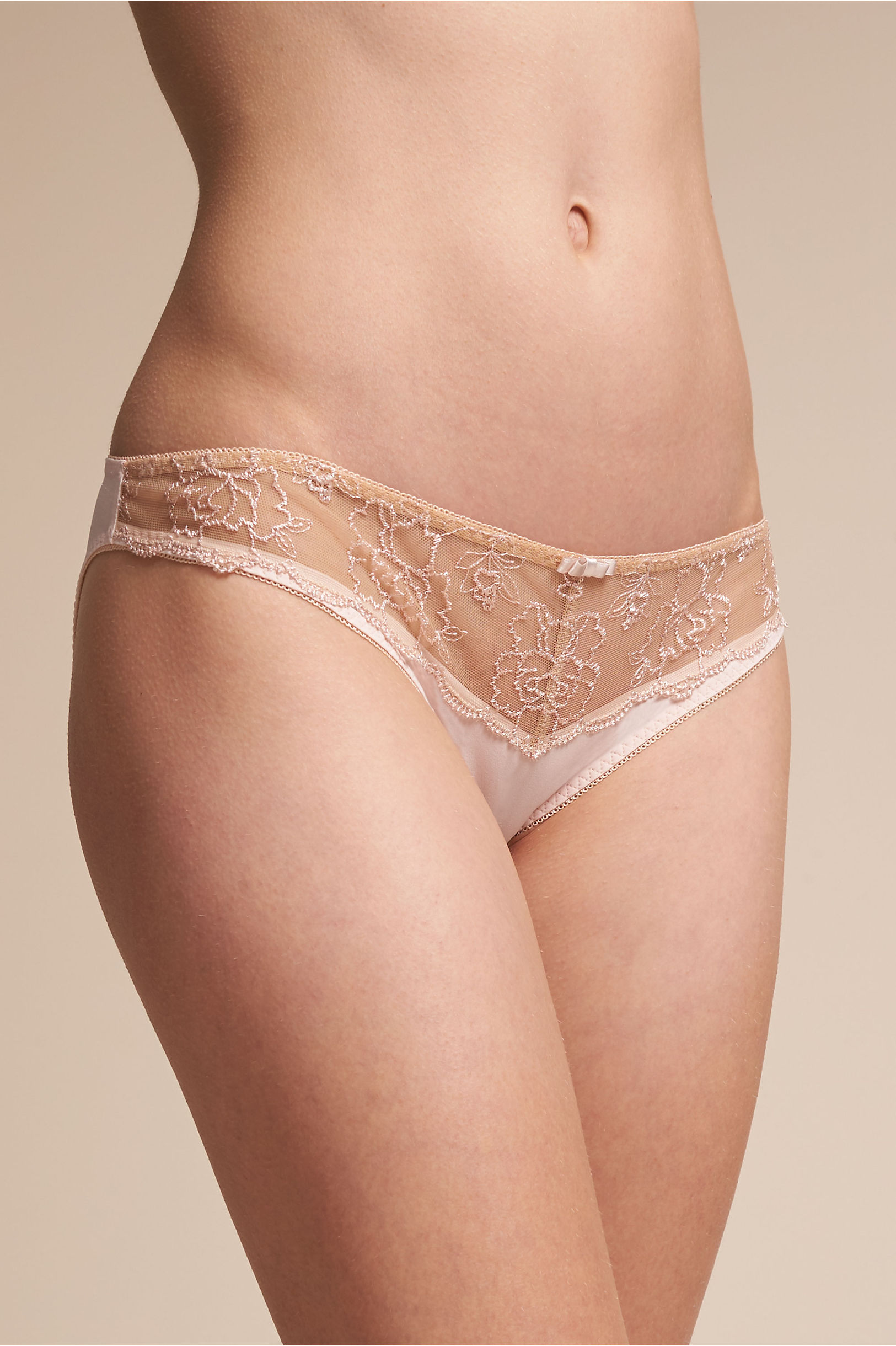 gisette panty blush in sale | bhldn