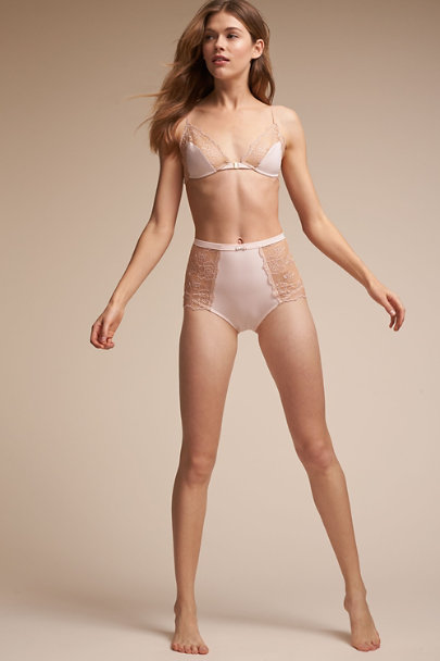 Blush Gisette High-Waisted Brief | BHLDN