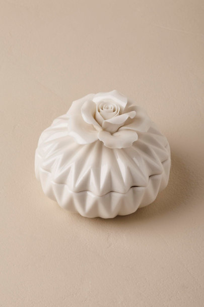 View larger image of Porcelain Bloom Ring Box