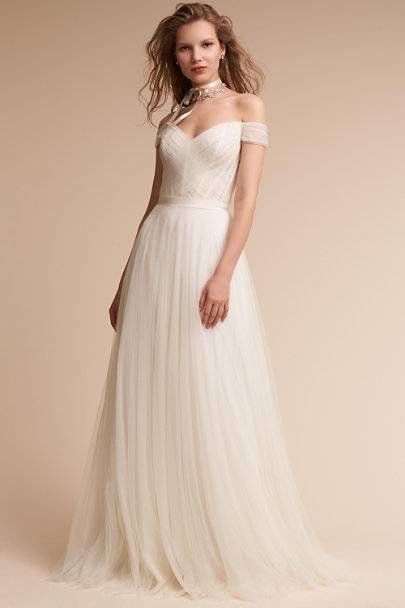 simple cheap wedding dresses heaton gown ivory in bhldn 7476