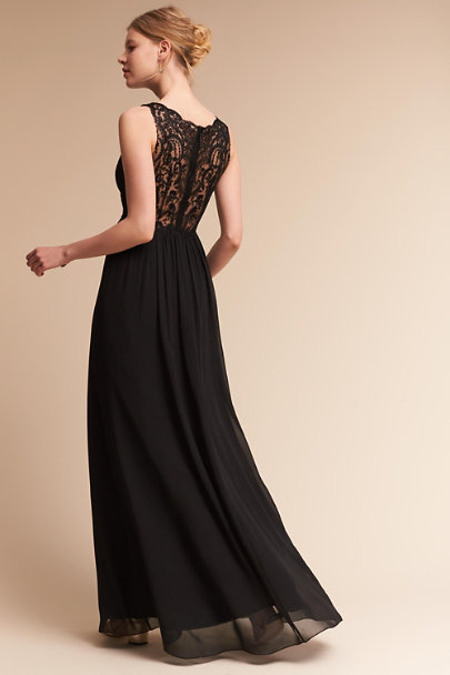 Jenny Yoo Black Dolly Dress | BHLDN