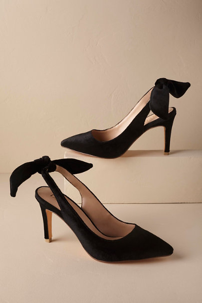 Black Audrey Heels | BHLDN