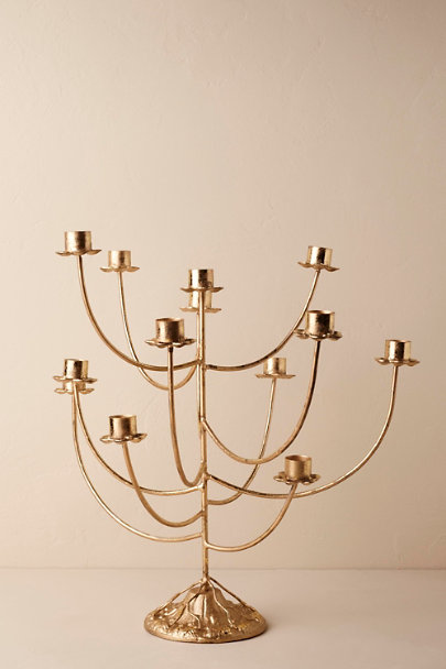 Gold Willow Candelabra | BHLDN