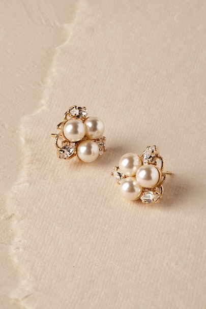View larger image of Pax Pearl Stud Earrings