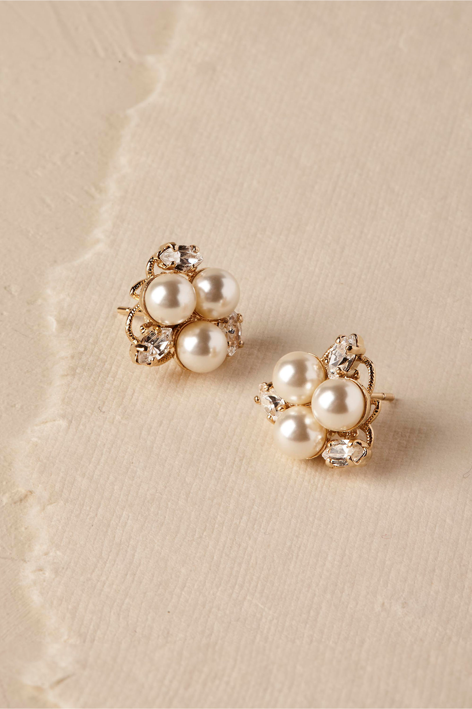 all gold studs diamond star collections dinny small bijou stud earrings solid hall