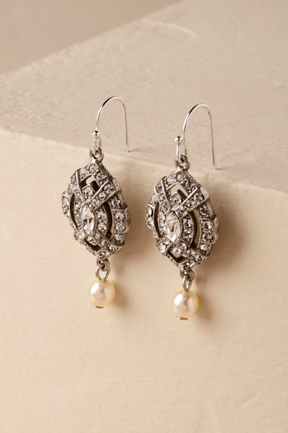 Ben-Amun Silver Loraine Earrings | BHLDN