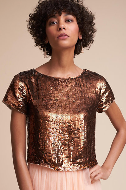 BHLDN Copper Ellery Top | BHLDN