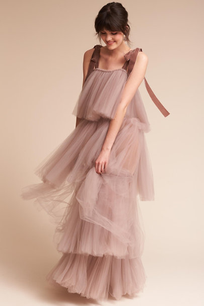 Amoralle Purple Astral Gown | BHLDN