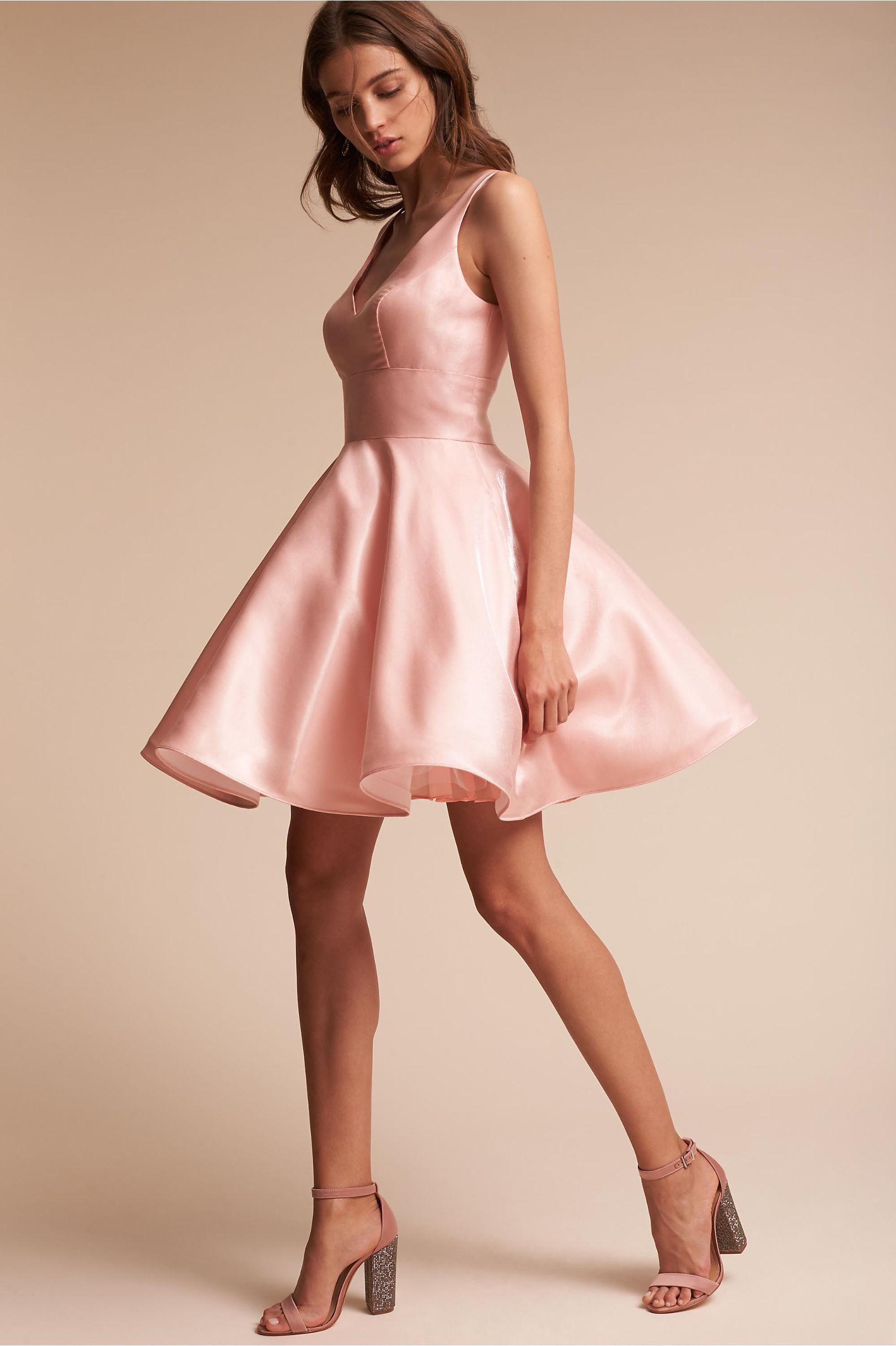 Aura Dress Dusty Pink in Sale | BHLDN