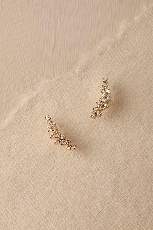 Sonya Crystal Stud Earrings