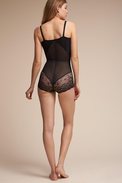 Spanx Black SPANX Lace Bodysuit | BHLDN