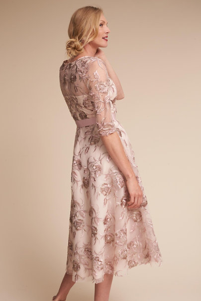 BHLDN Blush Multi Linden Dress | BHLDN
