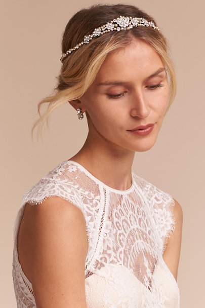 Paris by Debra Moreland Silver Mansfield Halo | BHLDN