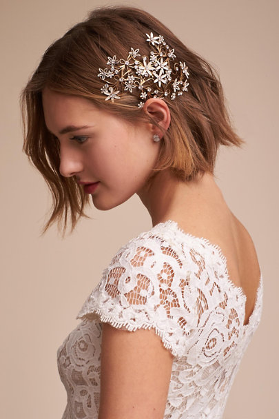 Paris by Debra Moreland Gold Boboli Headpiece | BHLDN