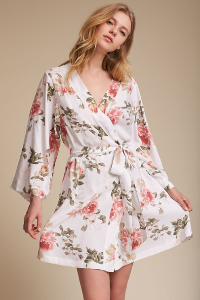 Yumi Kim Botanical Yumi Kim Morning Light Floral Robe | BHLDN