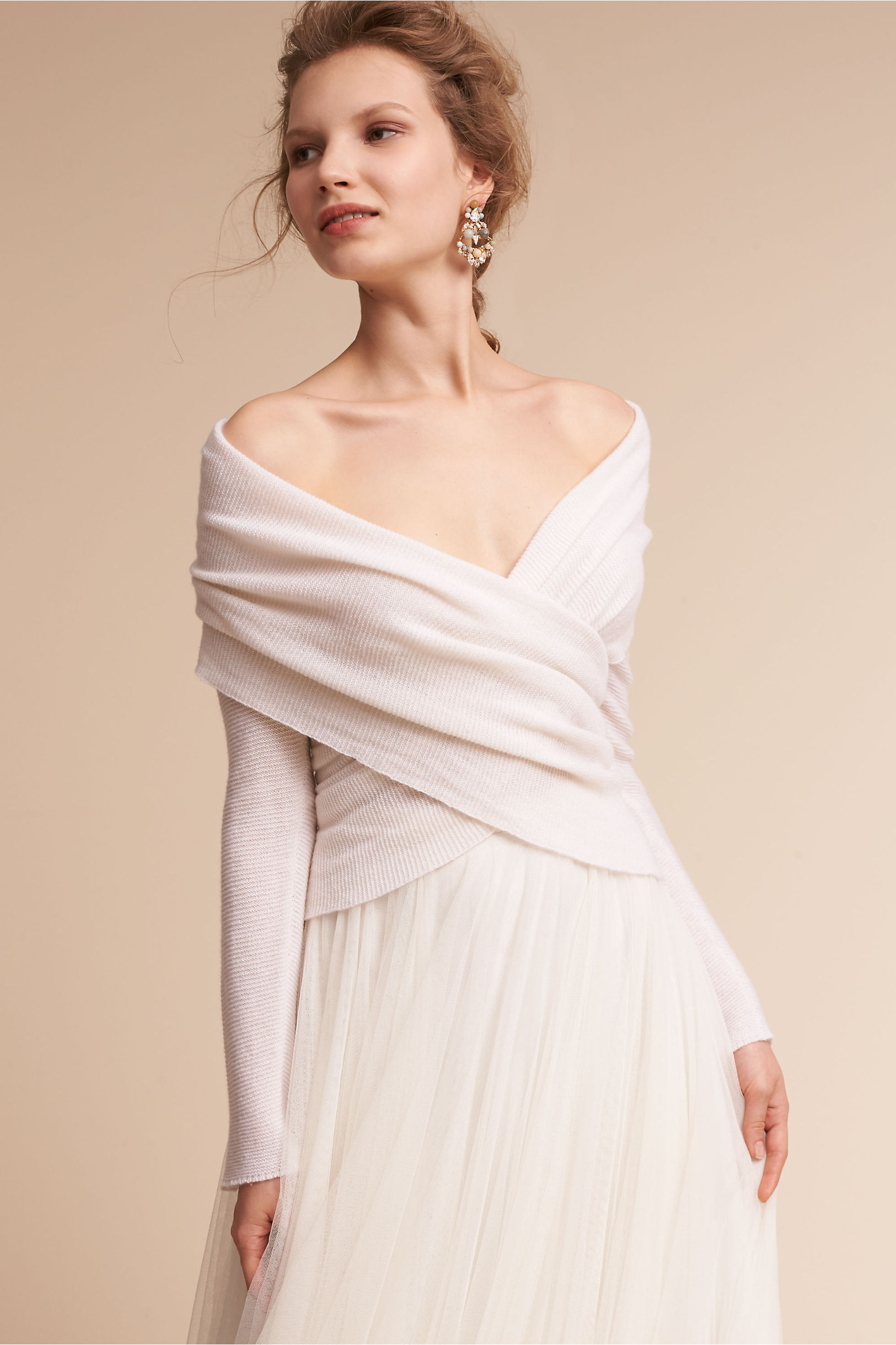 Ethereal Sweater Ivory in Sale | BHLDN
