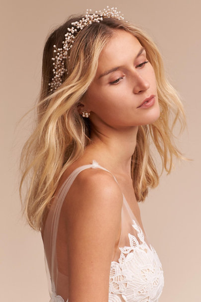 Ti Adoro Gold Cordeline Halo | BHLDN