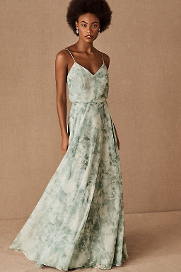 Floral Print Bridesmaid Dresses | BHLDN
