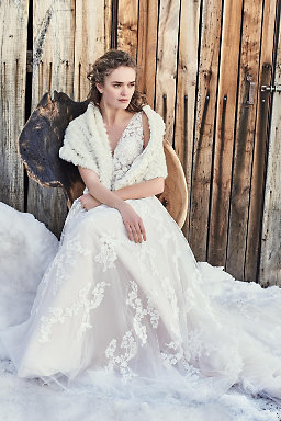 Winter wedding dresses gowns bhldn radcliffe gown junglespirit Gallery