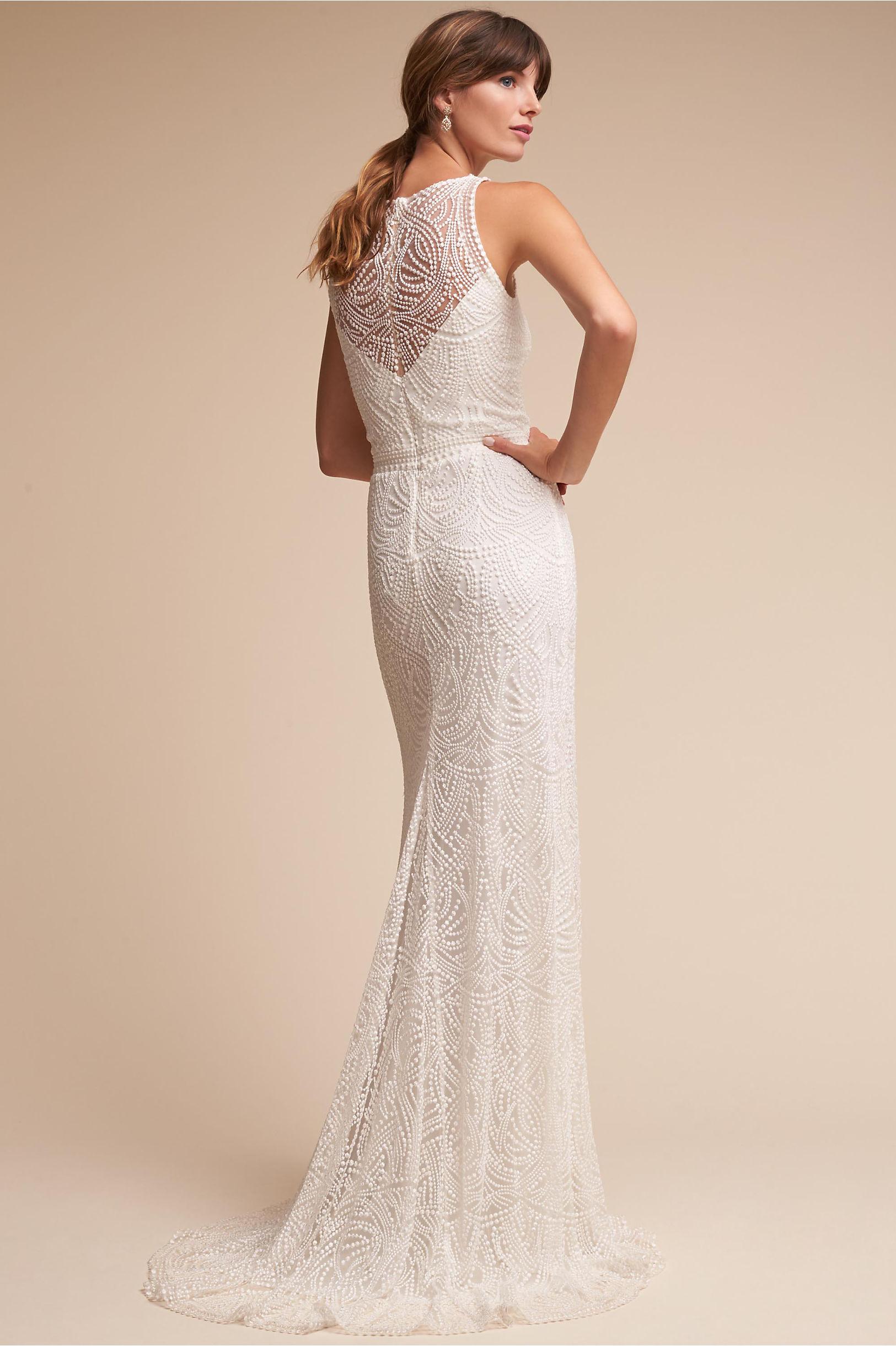 Perdita Gown Ivory in Bride | BHLDN